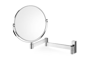 ZACK - LINEA - Stainless stell wall cosmetic mirror