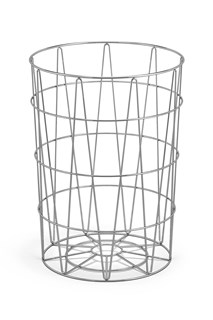 ZACK - SATONE - Stainless steel paper / laundry basket